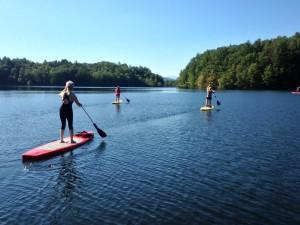 SUP on Lake Julia @ White Squirrel Paddle Boards   Brevard   North Carolina   United States
