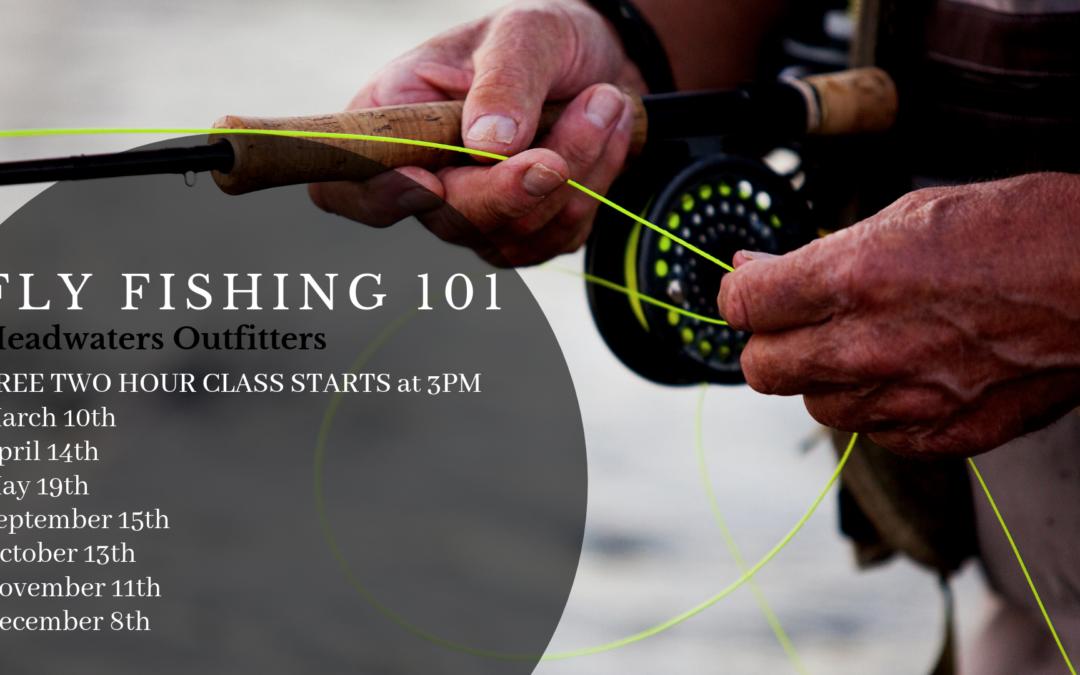 Fly Fishing 101