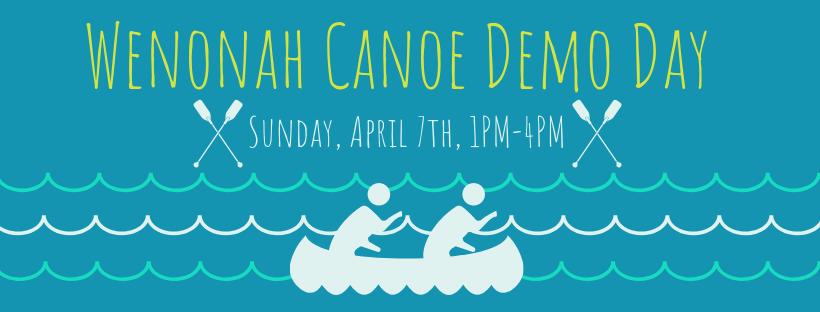Wenonah Canoe Demo Day |