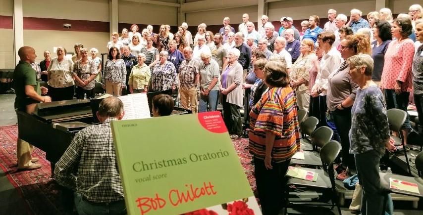 """North American Premiere of """"Christmas Oratorio"""" by Bob Chilcott"""