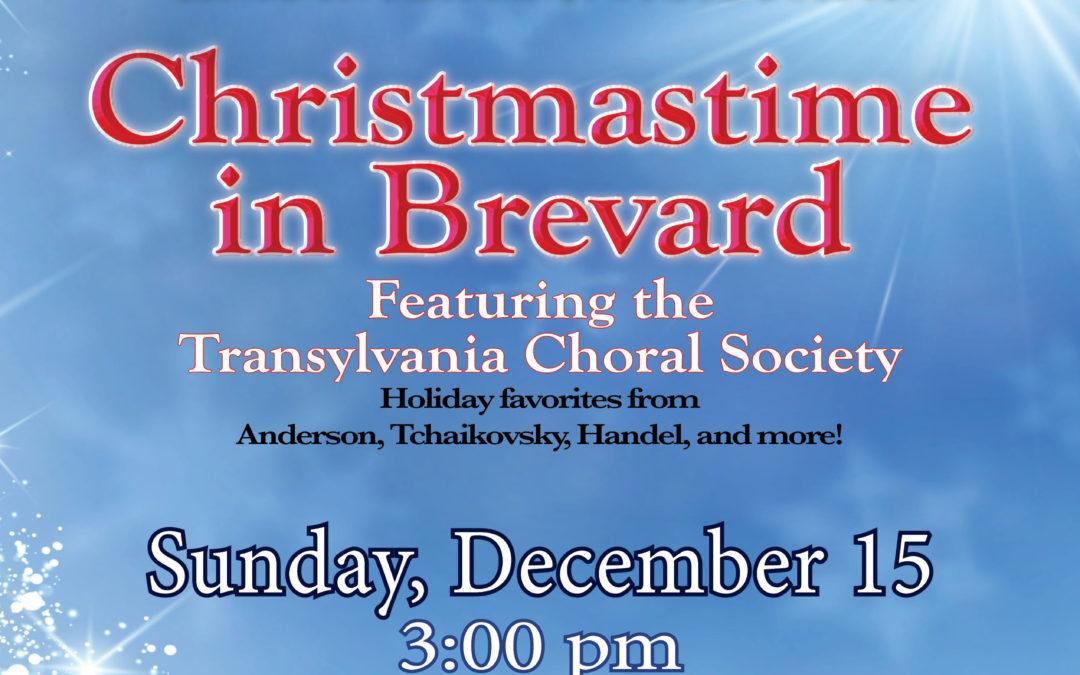 Brevard Philharmonic presents Christmastime in Brevard