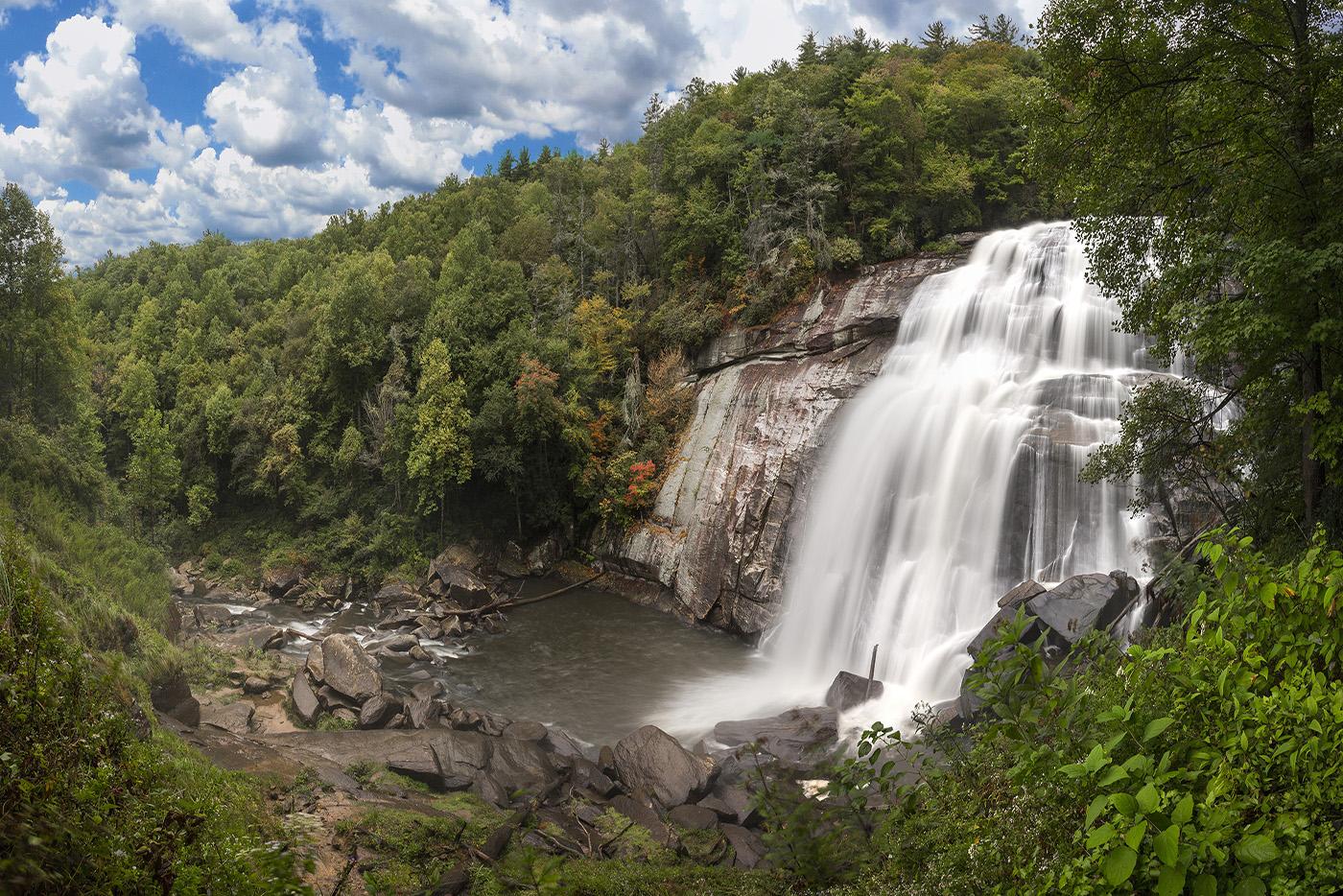 Waterfalls Transylvania County Brevard
